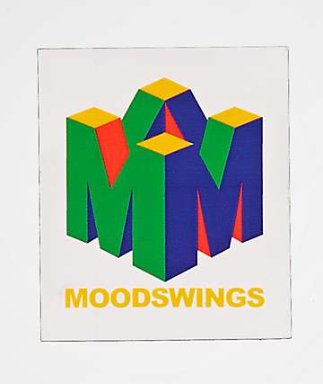 Moodswings 96 pegatina