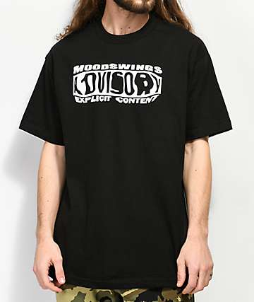 Moodswings Advisory Black T-Shirt