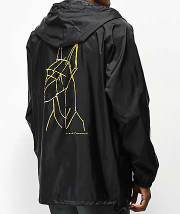 Moodswings Beware chaqueta anorak negra
