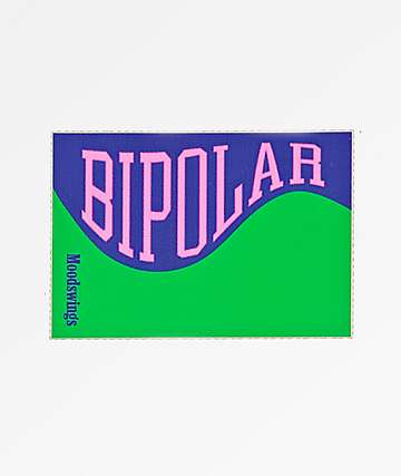 Moodswings Bipolar Sticker