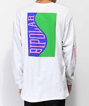 Moodswings Bipolar camiseta blanca de manga larga
