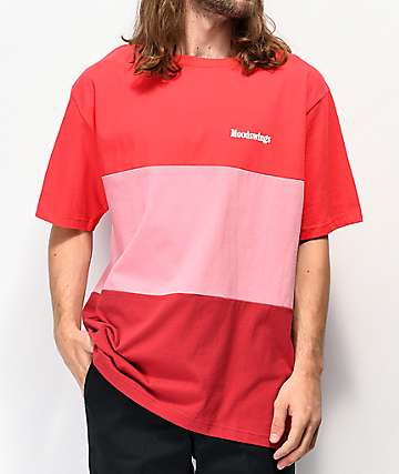 Moodswings Blockchain Red T-Shirt