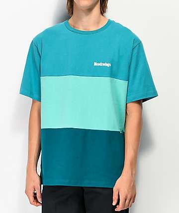 Moodswings Blockchain Teal T-Shirt