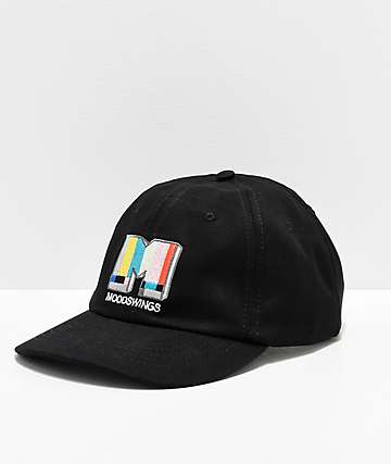 Moodswings Broadcast Black Strapback Hat