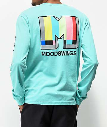 Moodswings Broadcast Green Long Sleeve T-Shirt
