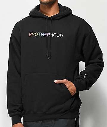 Moodswings Brotherhood Black Hoodie