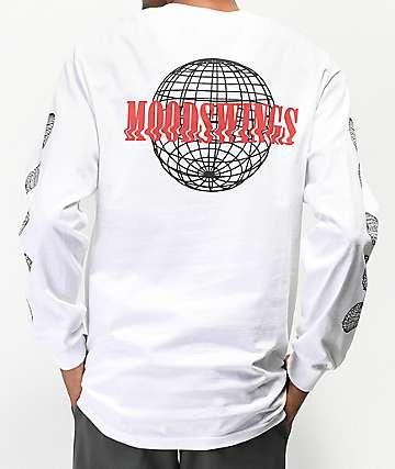 Moodswings Climate Change White Long Sleeve T-Shirt