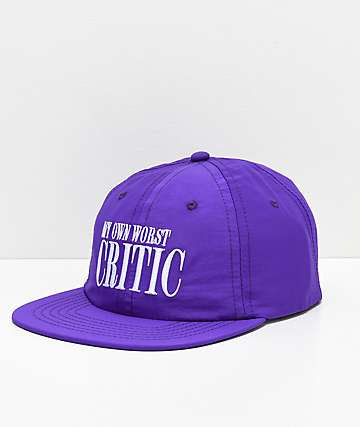Moodswings Critic Purple Strapback Hat