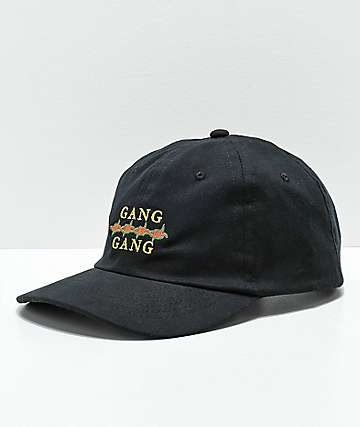 Moodswings Gang Gang Black Strapback Hat