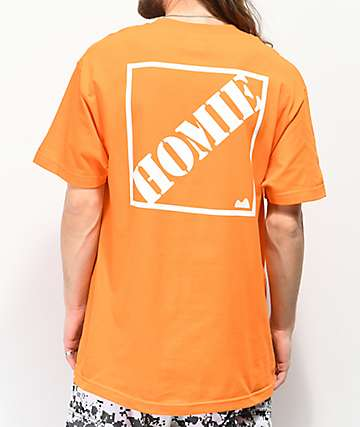 Moodswings Homie Depot Orange T-Shirt
