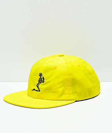 Moodswings Losing My Religion Yellow Strapback Hat