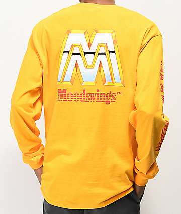 Moodswings Main Event Yellow Long Sleeve T-Shirt