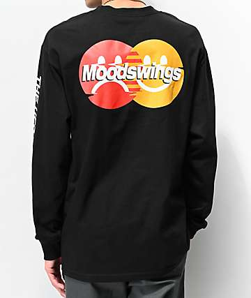 Moodswings Masterpiece Black Long Sleeve T-Shirt