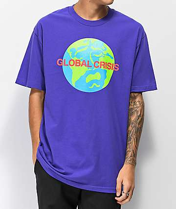 Moodswings Mundo camiseta morada