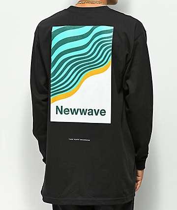 Moodswings New Wave camiseta negra de manga larga