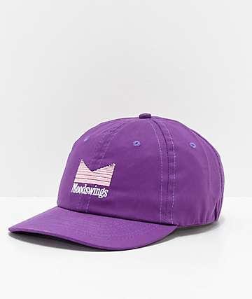Moodswings Quantum Leap Purple Strapback Hat