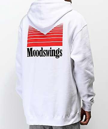 Moodswings Quantum Leap White Hoodie