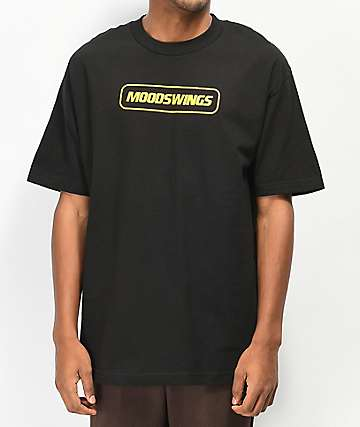 Moodswings Testing Black & Yellow T-Shirt