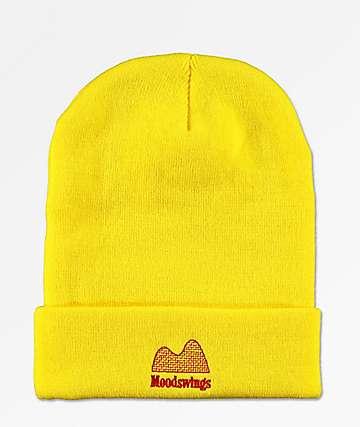 Moodswings Ups & Downs gorro amarillo