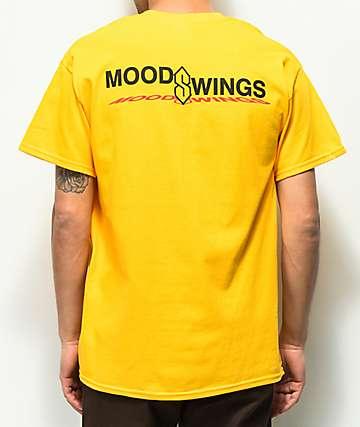 Moodswings With An S camiseta dorada