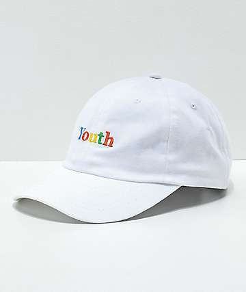 Moodswings Youth White Strapback Hat