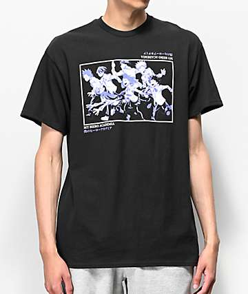 My Hero Class 1-A Black T-Shirt