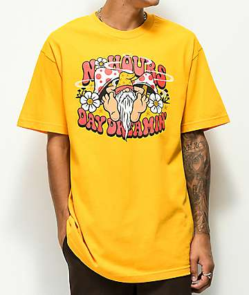 N°Hours Dreamin Gold T-Shirt