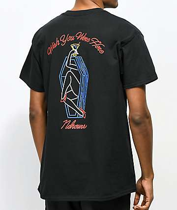 N°Hours Wish camiseta negra