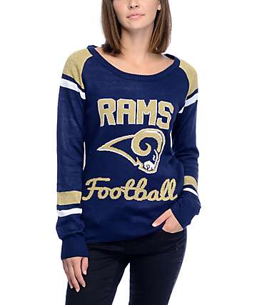 NFL Forever Collectibles Low Angeles Rams suéter