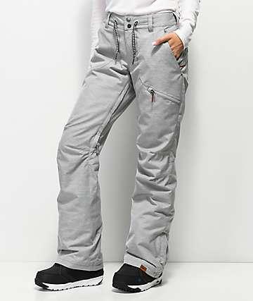 Nadia 10K pantalones de snowboard gris jaspeado