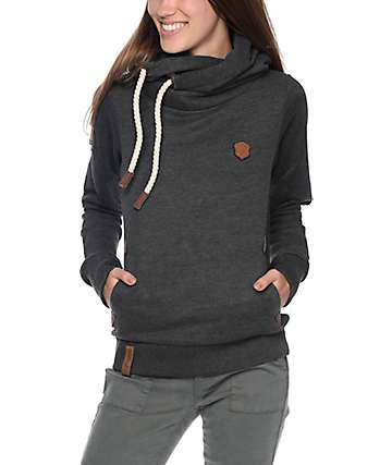 Naketano Darth VIII Anthracite Melange Hoodie