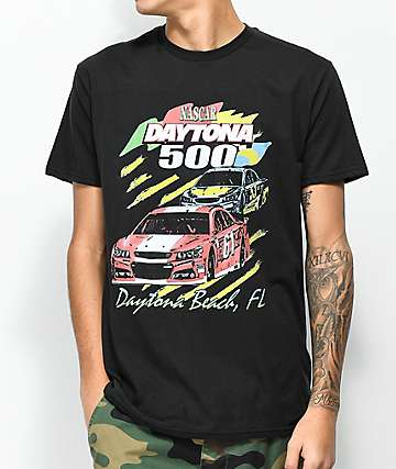 Nascar Daytona 500 Black T-Shirt