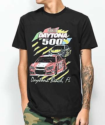 Nascar Daytona 500 camiseta negra