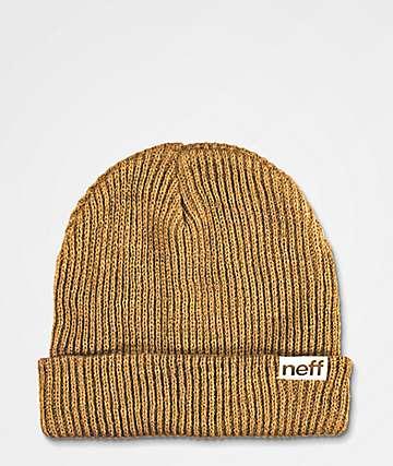 Neff Brown Fold Beanie c874775db6