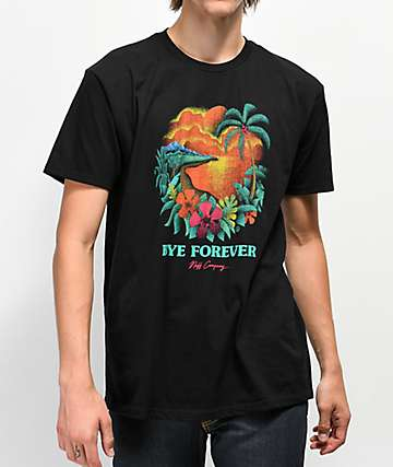Neff Bye Forever camiseta negra