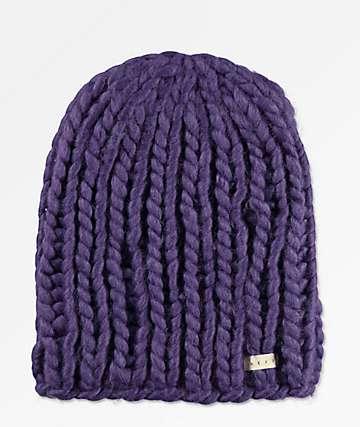 c9a4b140d03 Neff Cara Purple Beanie
