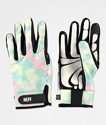 Neff Chameleon guantes de snowboard con lavado pastel