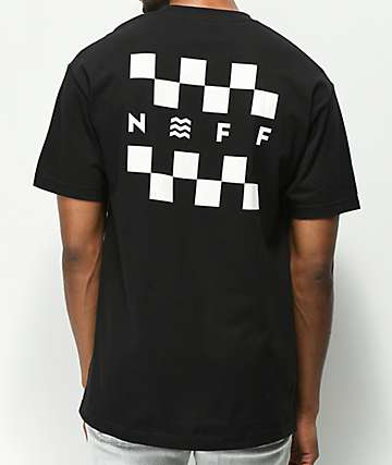 Neff Checkerboard camiseta negra