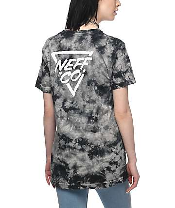 Neff Chip Black Tie Dye T-Shirt