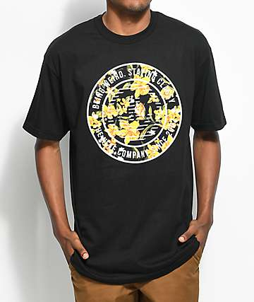 Neff Circular Vapay Black T-Shirt