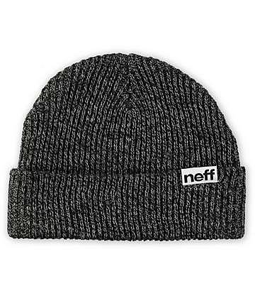 Neff Cuff Black & Grey Beanie