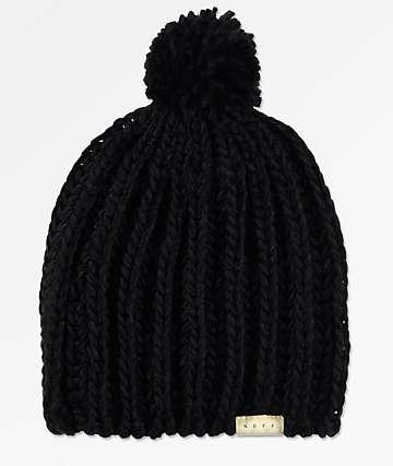 Neff Curse Black Beanie