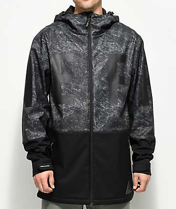 Neff Daily Acid Black 10K Softshell Jacket