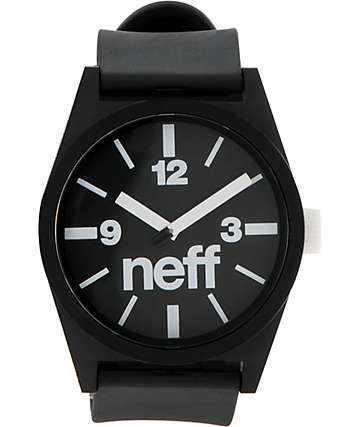 Neff Daily Black Analog Watch