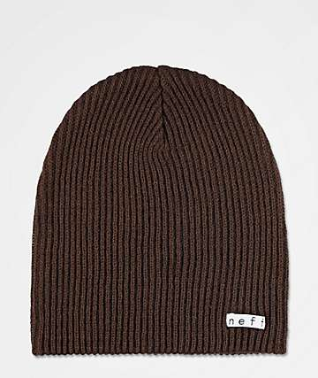 Neff Daily Dark Brown Beanie