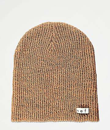 9f2a079684ac7a Neff Daily Heather Apricot & Grey Beanie