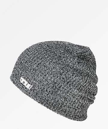 a5a2e00ab0d1e6 Neff Daily Heather Black & White Beanie