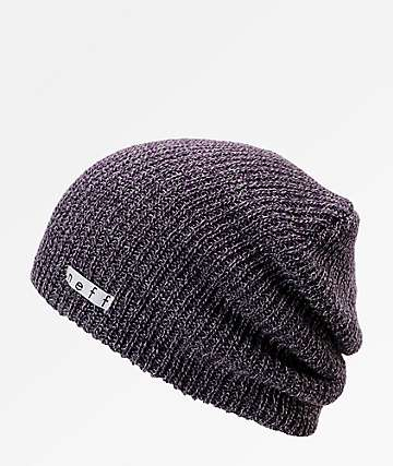 c5fabe7001080c Neff Daily Heather Purple & Grey Beanie