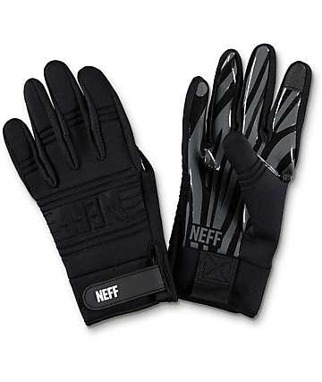 Neff Daily Pipe guantes de snowboard negros
