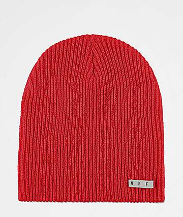 a3334919022a7 Neff Daily Red Beanie